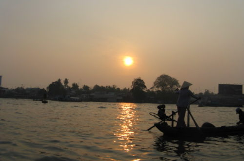 Floating Down the Mekong